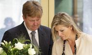 El dolor de Máxima y Guillermo de Holanda por la tragedia de Malaysia Airlines