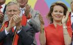 Felipe y Matilde de los belgas vibran con su selección