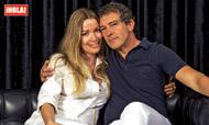 Antonio Banderas posa por primera vez y en exclusiva con su nuevo amor: 'Nicole no ha sido el motivo de mi divorcio'