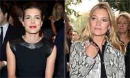 Carlota Casiraghi y Kate Moss, estrellas de la inauguración de la 'Milán Fashion Week'
