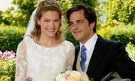 La boda de cuento de François, hijo de Beatriz de Orleans