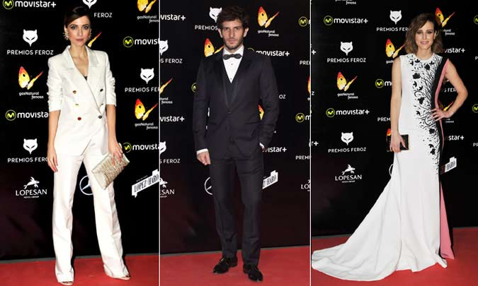 El cine español viste de 'glamour' la alfombra roja