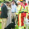 Stéphanie de Lannoy se une a la Familia Ducal de Luxemburgo en un acto con los perros de la Cruz Roja
