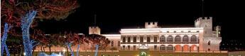 El palacio Grimaldi se viste de Navidad