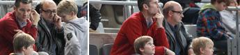 Iñaki Urdangarin, en el balonmano junto a sus hijos tras conocer que tendrá que volver a declarar