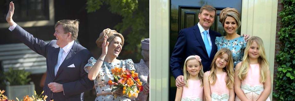 Guillermo de Holanda irradia felicidad en su primer Día del Rey: 'Ha sido inolvidable'