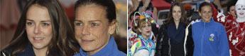 Estefanía de Mónaco y su hija Pauline Ducruet se reúnen con la gran familia del circo