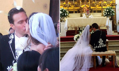 La boda mexicana de Anahí, cantante y actriz de 'Rebelde', y el gobernador de Chiapas, Manuel Velasco