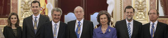 Los reyes y los príncipes de Asturias presiden la solemne apertura de la X Legislatura de las Cortes Generales