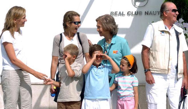 La infanta Cristina y sus hijos pasarán finalmente unos días de vacaciones en Palma