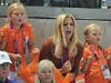 La emoción de Guillermo y Máxima de Holanda y sus hijas