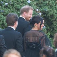 Meghan Markle y el príncipe Harry acuden a la boda de Misha Nonoo