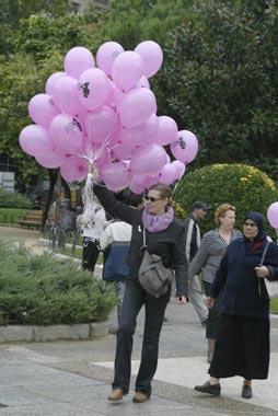 Octubre, un mes de lucha contra el cáncer de mama
