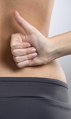 Cuando el dolor de espalda se trata en la consulta del dentista