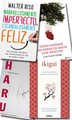 Libros para disfrutar más de la vida y ser feliz
