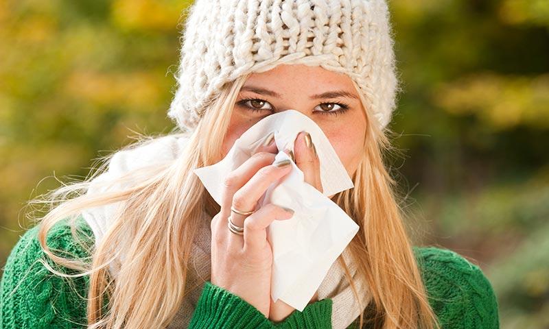 ¿Sabes cómo 'despistar' al virus de la gripe este invierno?