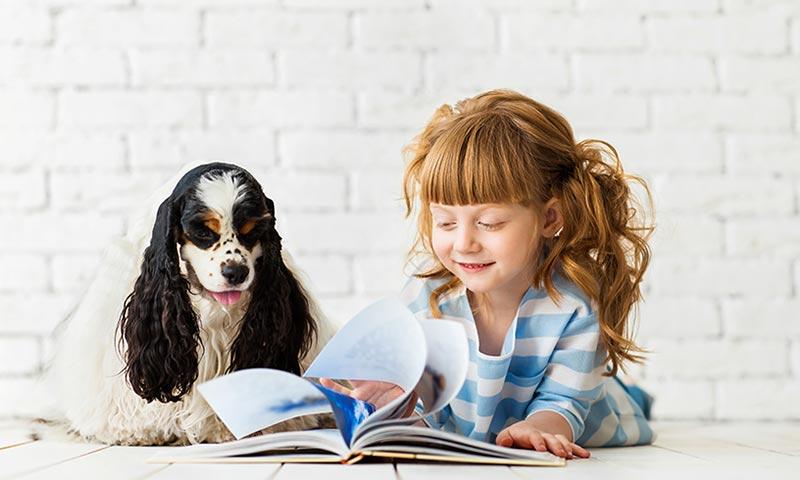 Este perro ayudará a tu hijo a leer mejor