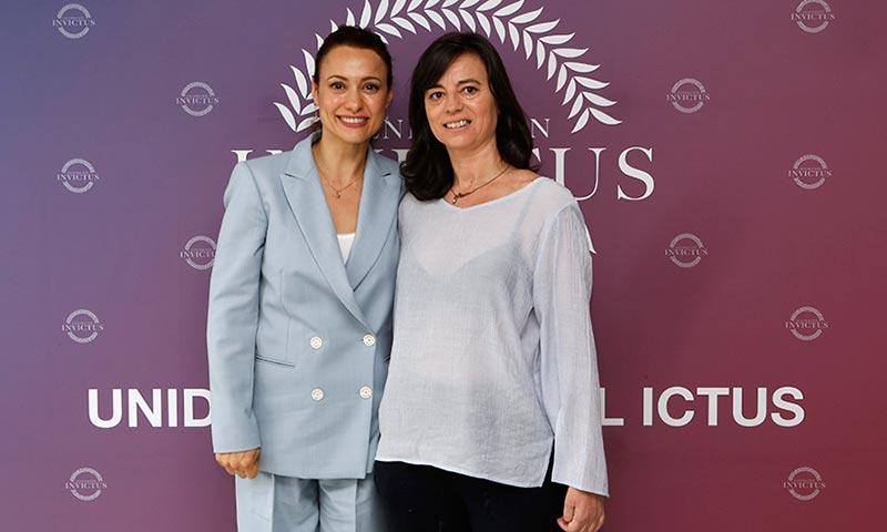 Natalia Verbeke y Marta Lozano: juntas frente al ictus