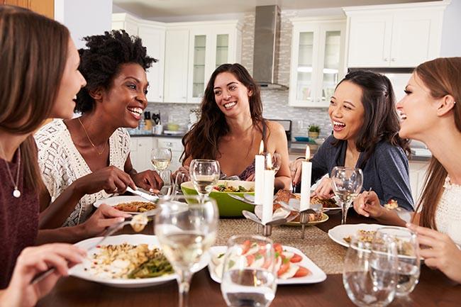 Trucos para no engordar en las cenas especiales