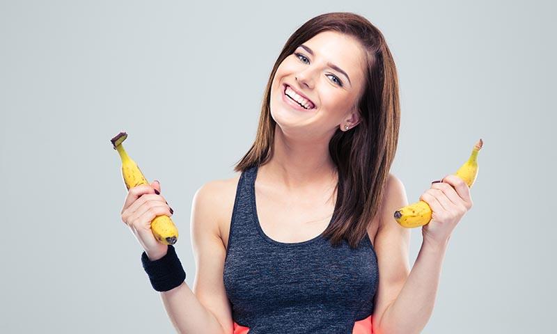Por qué el plátano es la fruta ideal para deportistas