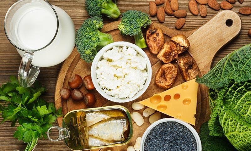 ¿Necesitas tomar calcio? Incluye estos alimentos en tu dieta