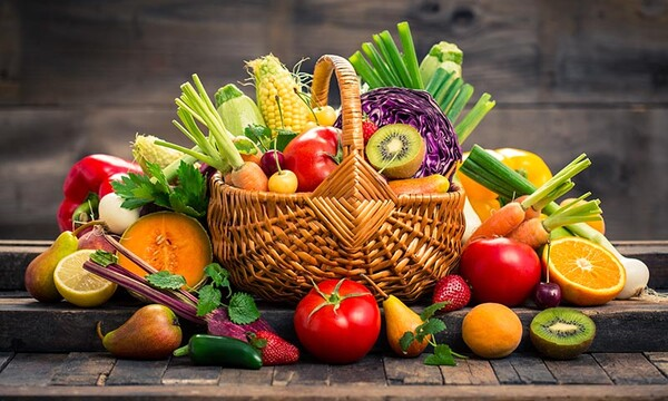 Los colores de las frutas y verduras cuentan mucho de ellas
