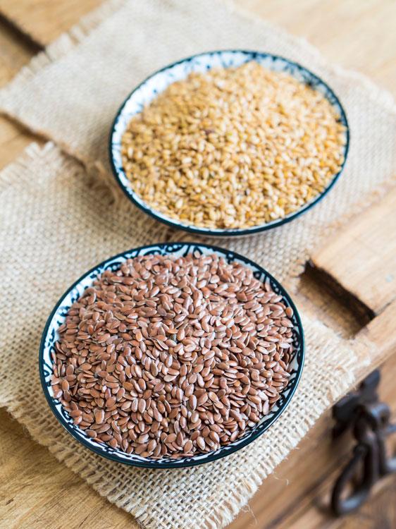 semillas de lino en el embarazo
