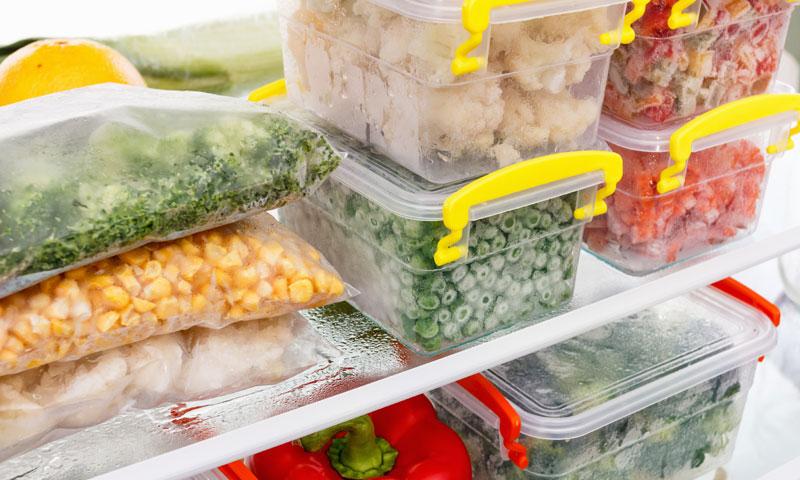 Alimentos congelados, ¿conservan los mismos nutrientes?