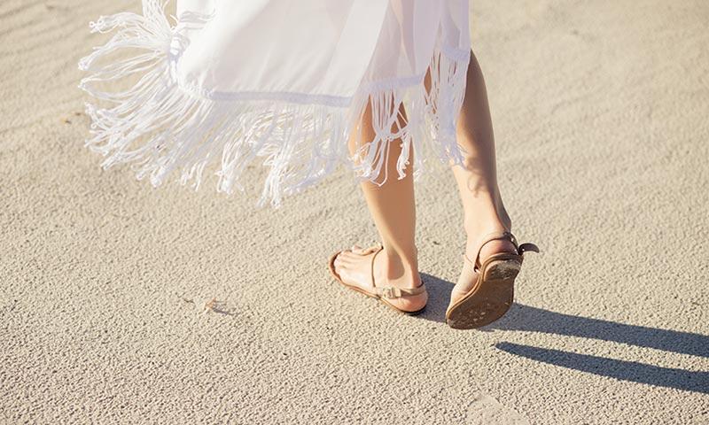 ¿Son las sandalias un buen calzado para el verano?