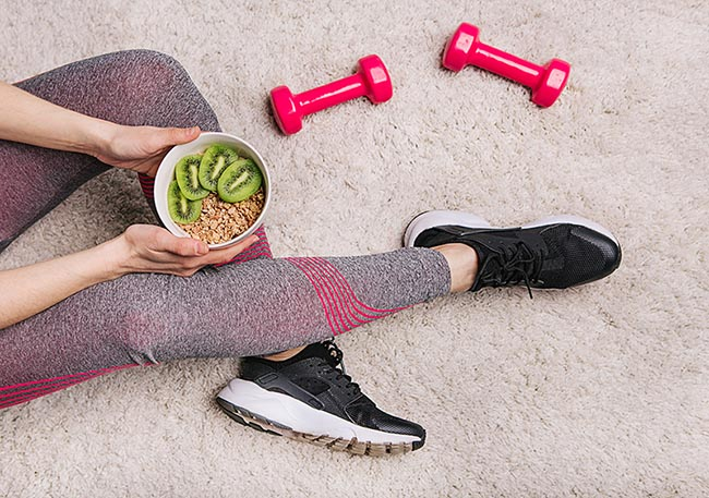 batidos antes de ir al gym