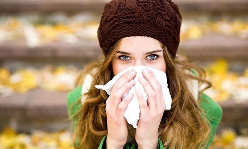 Resfriados, gripe, y otras infecciones de otoño