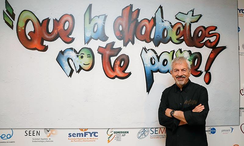 Carlos Sobera cuenta su experiencia como paciente diabético