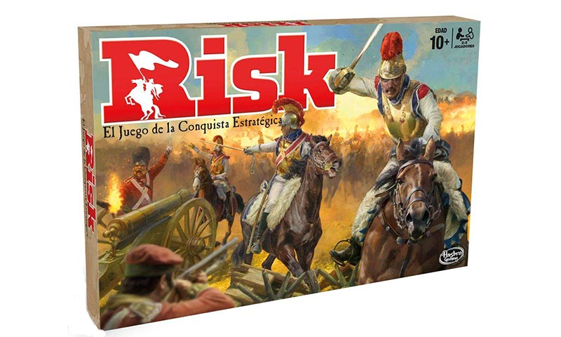 Juegos de mesa para jugar en familia: risk