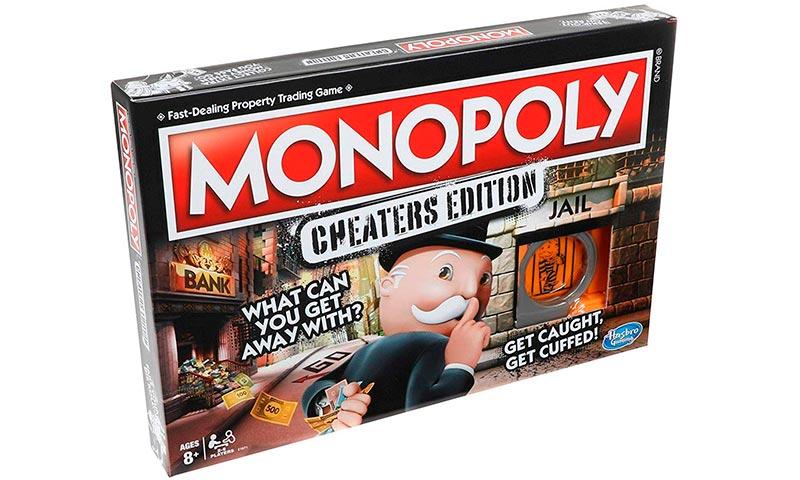 Juegos de mesa para jugar en familia: monopoly tramposo