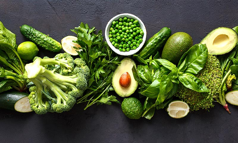 Elige el verde a la hora de comer