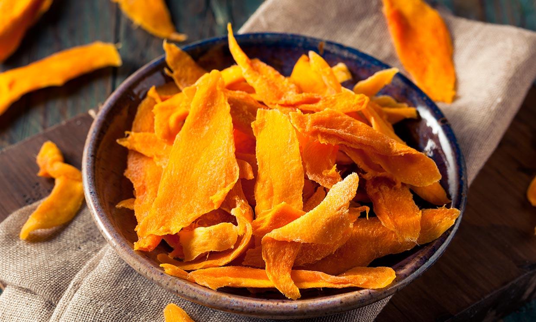 Mango deshidratado, el 'snack' más versátil