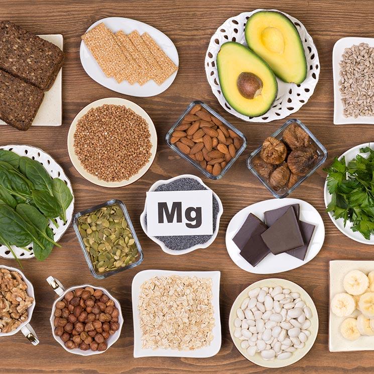alimentos llenos de magnesio