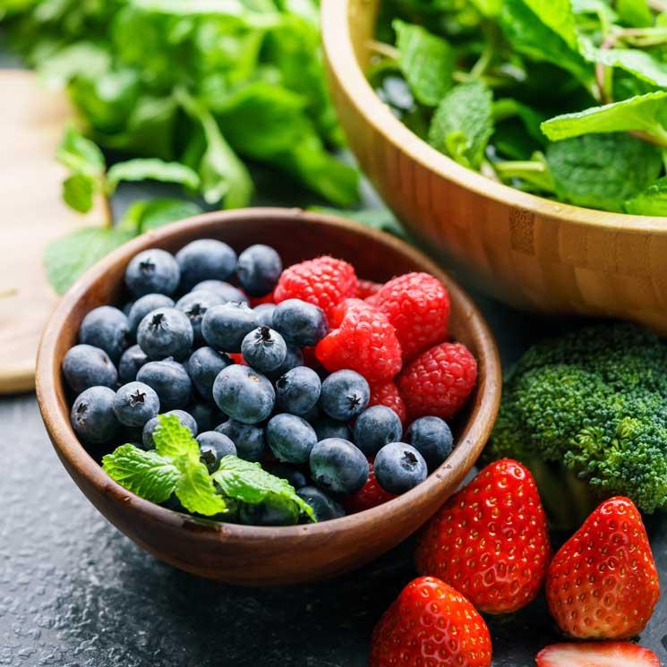 Bajar de peso solo con frutas y verduras