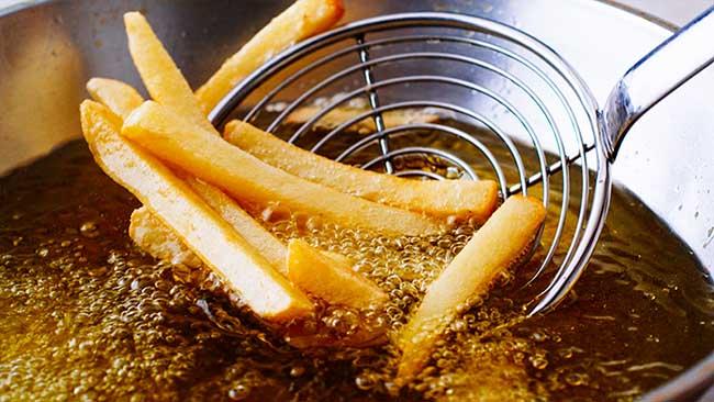 Alimentos fritos o con grasa