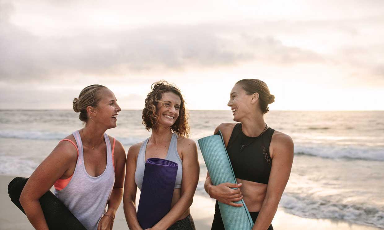 Usa la playa como gimnasio, ya no hay excusas