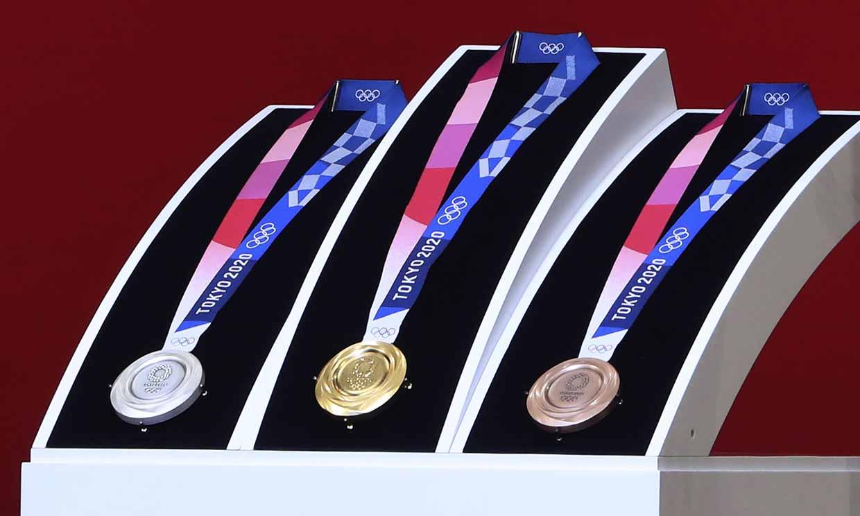 Las medallas de Tokio 2020 han sido creadas con basura electrónica reciclada