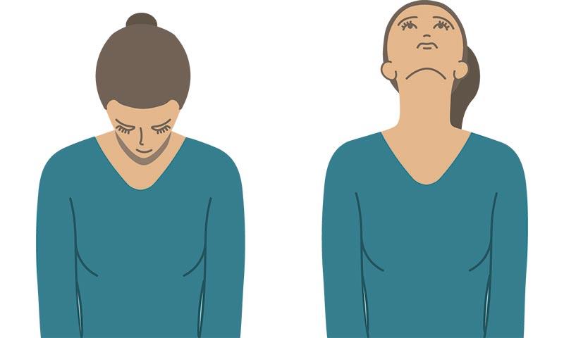 Ejercicios de cuello para evitar dolores cervicales - Foto 1
