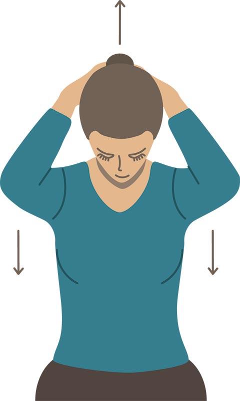 ejercicios de estiramiento cuello