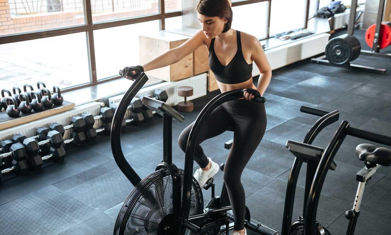 entrenamiento cardiovascular equipo de fitness para perder peso M/áquina de entrenamiento para bicicleta de ejercicio con resistencia a la velocidad entrenamiento en casa y ciclismo