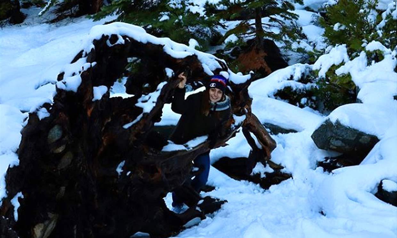Paulina Villalonga y su experiencia en el lago Tahoe