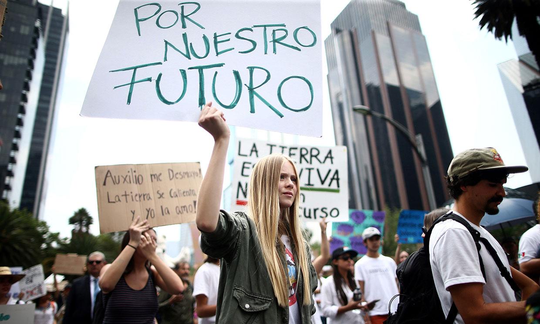 El cambio climático y la contaminación, las mayores preocupaciones de los jóvenes