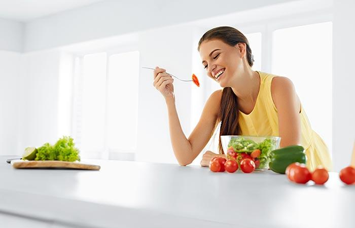 Comiendo sano adelgazar en una semana