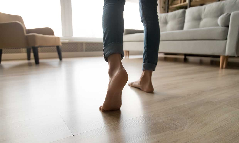 Trucos para reducir las lesiones, si pasas muchas horas de pie al día