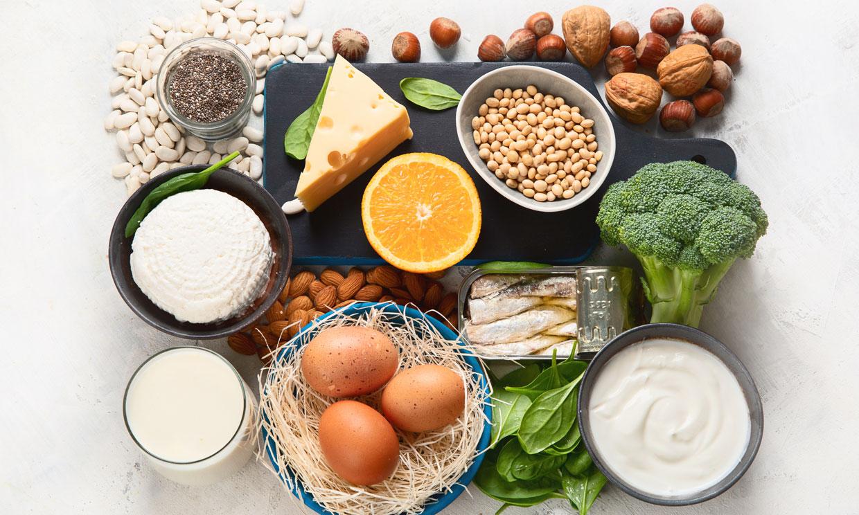 7 alimentos imprescindibles para el tono muscular y los huesos de la gente mayor