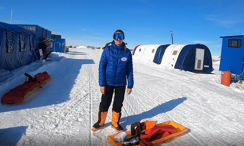 ¡HOLA! acompaña a Paulina Villalonga en su aventura en la Antártida